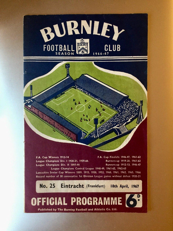 Burnley programme